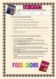 food idioms esl worksheet by solnechnaya. Black Bedroom Furniture Sets. Home Design Ideas