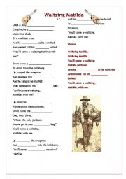 Waltzing Matilda Song Lyrics