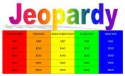 English Worksheet: Jeopardy - Intermediate