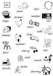 Printables Ch Sound Worksheets english worksheets phonetics page 9 ch consonant diagraph