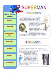 English Worksheets: Superman