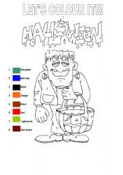 Halloween- Let´s colour it!!!!!