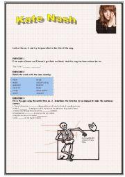 English Worksheet: Kate Nash