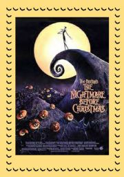 English Worksheet: THE NIGHTMARE BEFORE CHRISTMAS - MOVIE ACTIVITIES FOR HALLOWEEN (part 1)