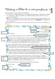 English Worksheets: writing a letter to a new pen-friend1