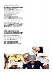 English Worksheets: Present Simple & Present Continuous: Multiple choice exercise - song: �Where is the love?� BLACK EYED PEAS (4 pages)