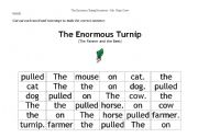 The Enormous Turnip- mixed up sentences