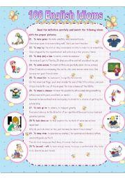 essential idioms