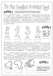 English teaching worksheets: Ancient Egypt