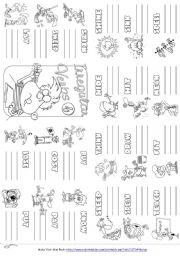 English Worksheet: Irregular Verbs Mini Book 4