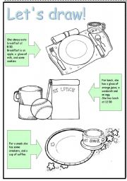 English Worksheet: Meals 3