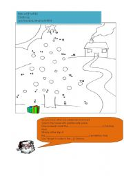 English Worksheet: DOT TO DOT ACTIVITIES