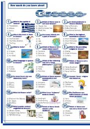 English Worksheet: Greece