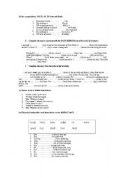 English Worksheet: Exam for Adults Beginners