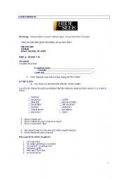 English worksheet: Hide and Seek