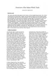 english worksheets witches trials. Black Bedroom Furniture Sets. Home Design Ideas