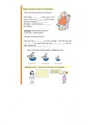 English Worksheets: Worksheet  3