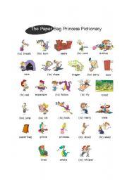Paper Bag Princess by Robert Munsch_Pictionary