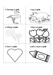 English teaching worksheets: Colours
