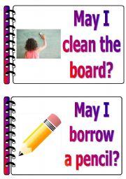 English Worksheet: classroom language set 5