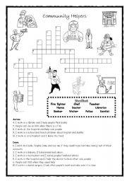 Printables Community Worksheets english teaching worksheets community helpers helpers