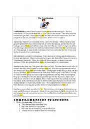 English Worksheets: The Veterinarian