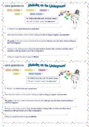 English Worksheets: GIVE QUESTIONS -