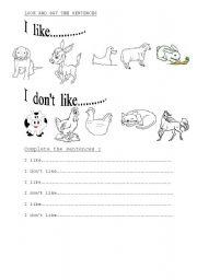 english teaching worksheets farm animals. Black Bedroom Furniture Sets. Home Design Ideas