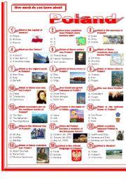 English Worksheet: Poland
