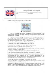 English worksheet: English Placement Test