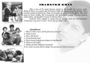 English Worksheets: Working with text BOLLYWOOD