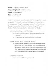 English Worksheets: Art