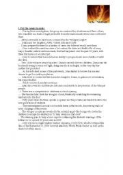 English Worksheets: Movie: Knowing