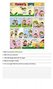 English Worksheets: Smudge - comics