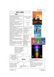 English Worksheets: Mind & Body