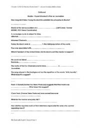 English Worksheets: Outfoxed Documentary - Questions