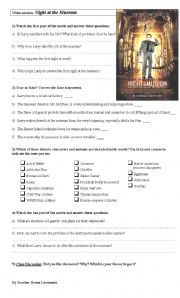 English Worksheets: Movie guide