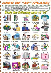 English Worksheets: USES OF