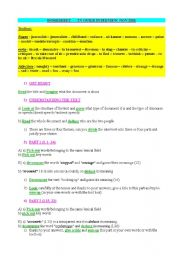MICHAEL JACKSON INTERVIEW AND WORKSHEET