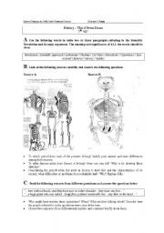 English worksheets: History worksheet - Scientific Revolution ...