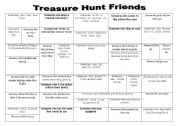 English Worksheet: Treasure Hunt