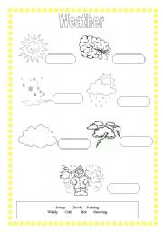 weather and seasons worksheet by teacher23. Black Bedroom Furniture Sets. Home Design Ideas