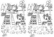 English Worksheets: The farm animals