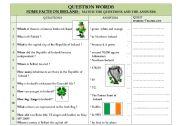 IRELAND / QUESTION WORDS