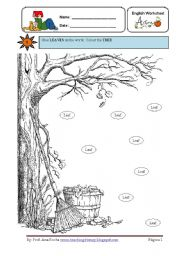 English Worksheet: It�s Autumn