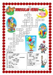 Related Pictures verbs crossword