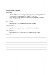 essay practice worksheets