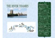 English Worksheets: the river thames