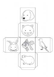 English Worksheets: Pets game