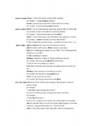 English Worksheets: COMMON MISTAKE